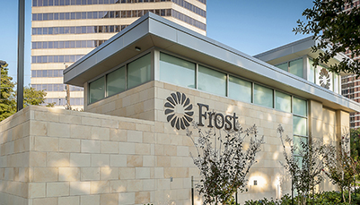 Frost Bank Drive Through Houston